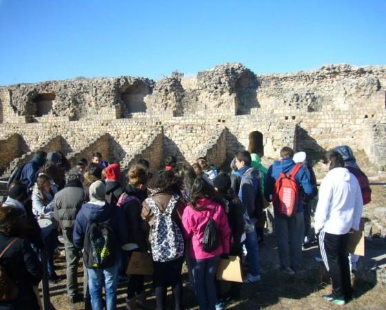 Excursión al yacimiento arqueológico de Valeria